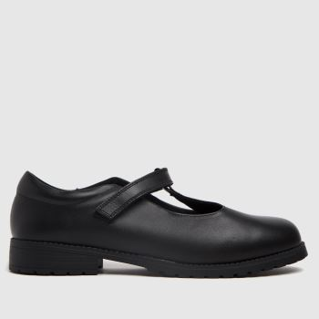 schuh Black Lively T-bar Girls Youth