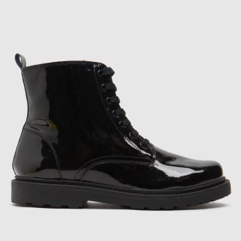 schuh Black Creator Lace Up Girls Youth