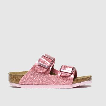 Birkenstock Pink Arizona Girls Toddler#
