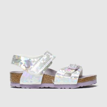 Birkenstock Silver Colorado Girls Toddler