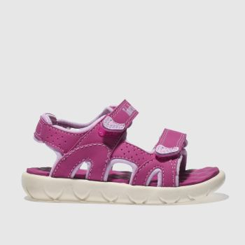 e916c3de43910 Timberland Pink Perkins Row Girls Toddler