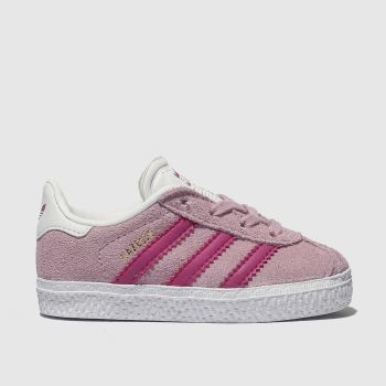 Adidas Pale Pink Gazelle Girls Toddler from Schuh