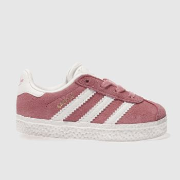 ADIDAS PINK GAZELLE GIRLS TODDLER TRAINERS