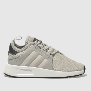 ADIDAS LIGHT GREY X_PLR TRAINERS TODDLER