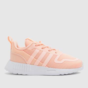 adidas Pale Pink Multix Girls Toddler