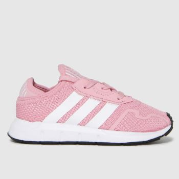 adidas Pink Swift Run X Girls Toddler