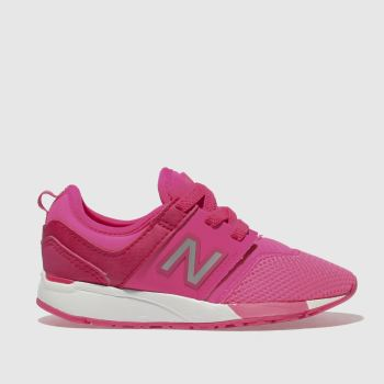 New Balance Pink 247 Girls Toddler
