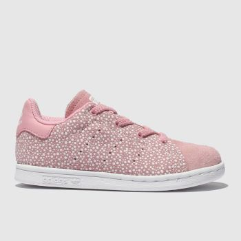 Adidas Pink Stan Smith Girls Toddler