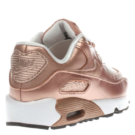 check out 61e6a 7d5d4 rose gold air max 90