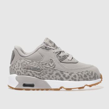 Nike Grey Air Max 90 Se Girls Toddler