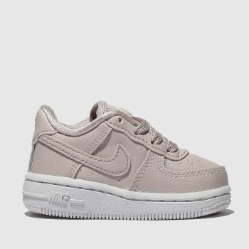 Nike Pale Pink AIR FORCE 1 SS Girls Toddler