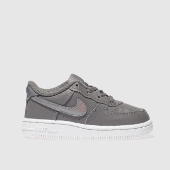 Nike Grey Air Force 1 Girls Toddler