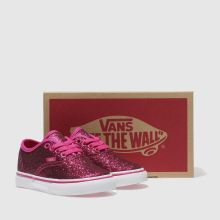 Vans authentic glitter 1