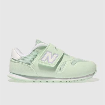 NEW BALANCE LIGHT GREEN 373 GIRLS TODDLER TRAINERS