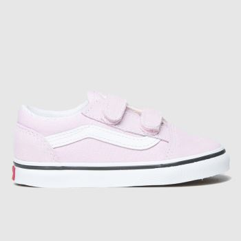 Vans Lilac Old Skool V Girls Toddler