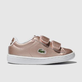 Lacoste Pink Carnaby Evo Girls Toddler