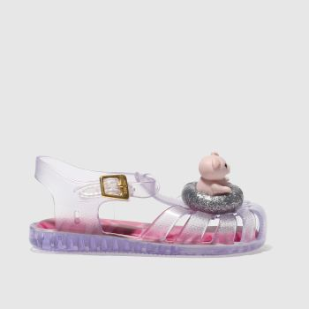 Melissa Clear Melissa Aranha Piggy Girls Toddler