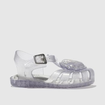 Melissa Clear Mini Aranha Shell Girls Toddler