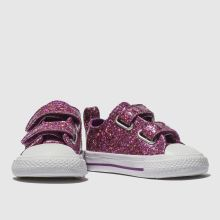 Converse all star ox 2v glitter 1