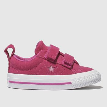 Converse Pink One Star 2V Girls Toddler