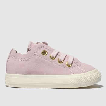 Converse Pink All Star Lo Frilly Thrills Girls Toddler