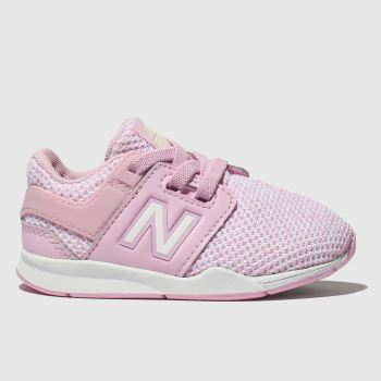 New Balance Pink 247 V2 Girls Toddler