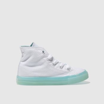 Converse White Chuck Taylor All Star Hi Girls Toddler