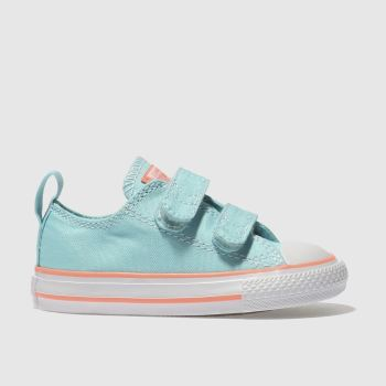 Converse Blue All Star 2V Girls Toddler