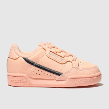 Adidas Peach Continental 80 Girls Toddler
