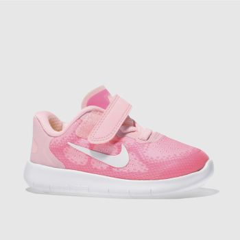 Nike Pink Free Run 2017 Girls Toddler