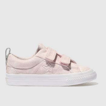 Converse Pink One Star Ox 2V Girls Toddler