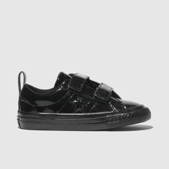Converse Black One Star 2V Girls Toddler