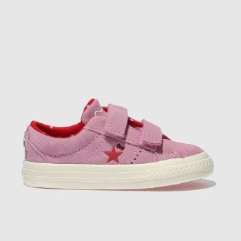 Converse Pink ONE STAR HELLO KITTY Girls Toddler