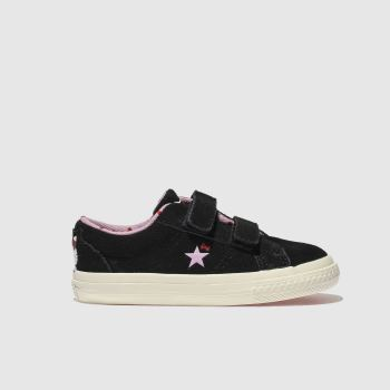 Converse Black ONE STAR HELLO KITTY Girls Toddler
