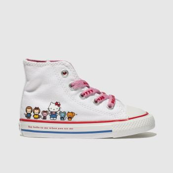 Converse Multi All Star Hello Kitty Hi Girls Toddler