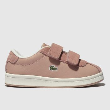 Lacoste Pale Pink Masters Girls Toddler