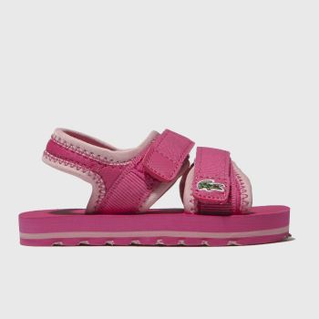 Lacoste Pink Sol Girls Toddler