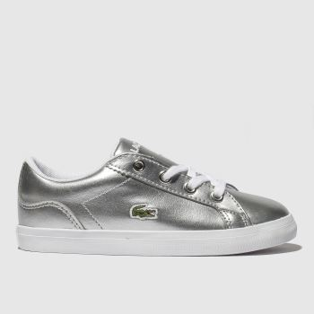 Lacoste Silver Lerond Girls Toddler