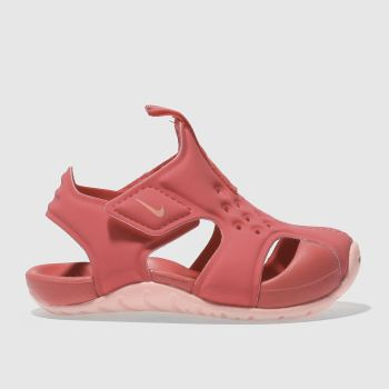 Nike Pink Sunray Protect 2 Girls Toddler