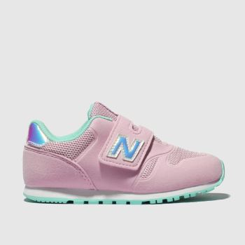 New Balance Pale Pink 373 Girls Toddler
