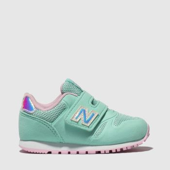 New Balance Turquoise 373 Girls Toddler