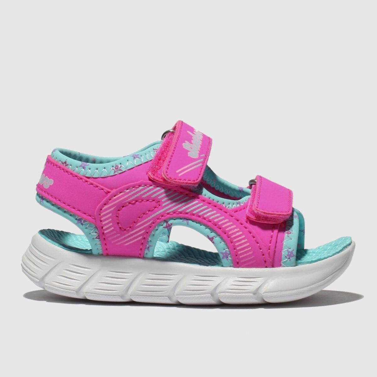 Skechers Pink C-flex Sandals Toddler