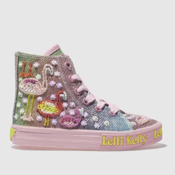 LELLI KELLY PINK SHINING FLAMIMGO TRAINERS TODDLER