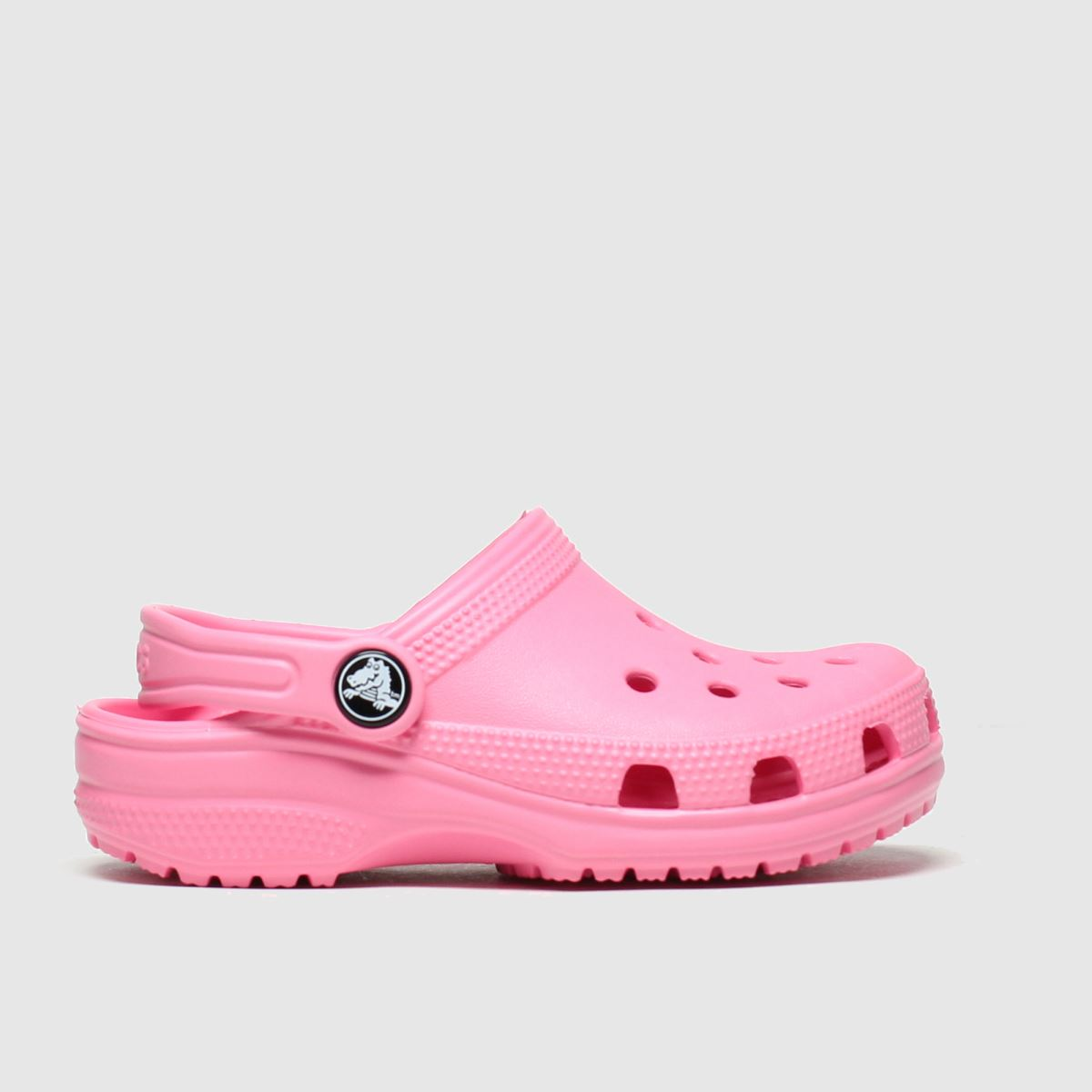 Crocs Pink Classic Clog Trainers Toddler