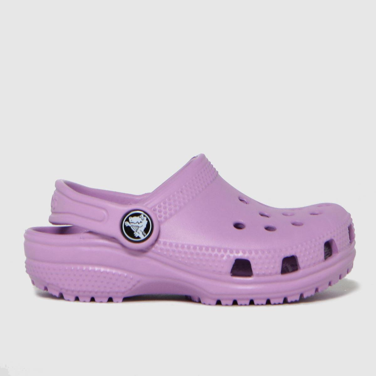 Crocs Lilac Classic Clog SANDAL Toddler