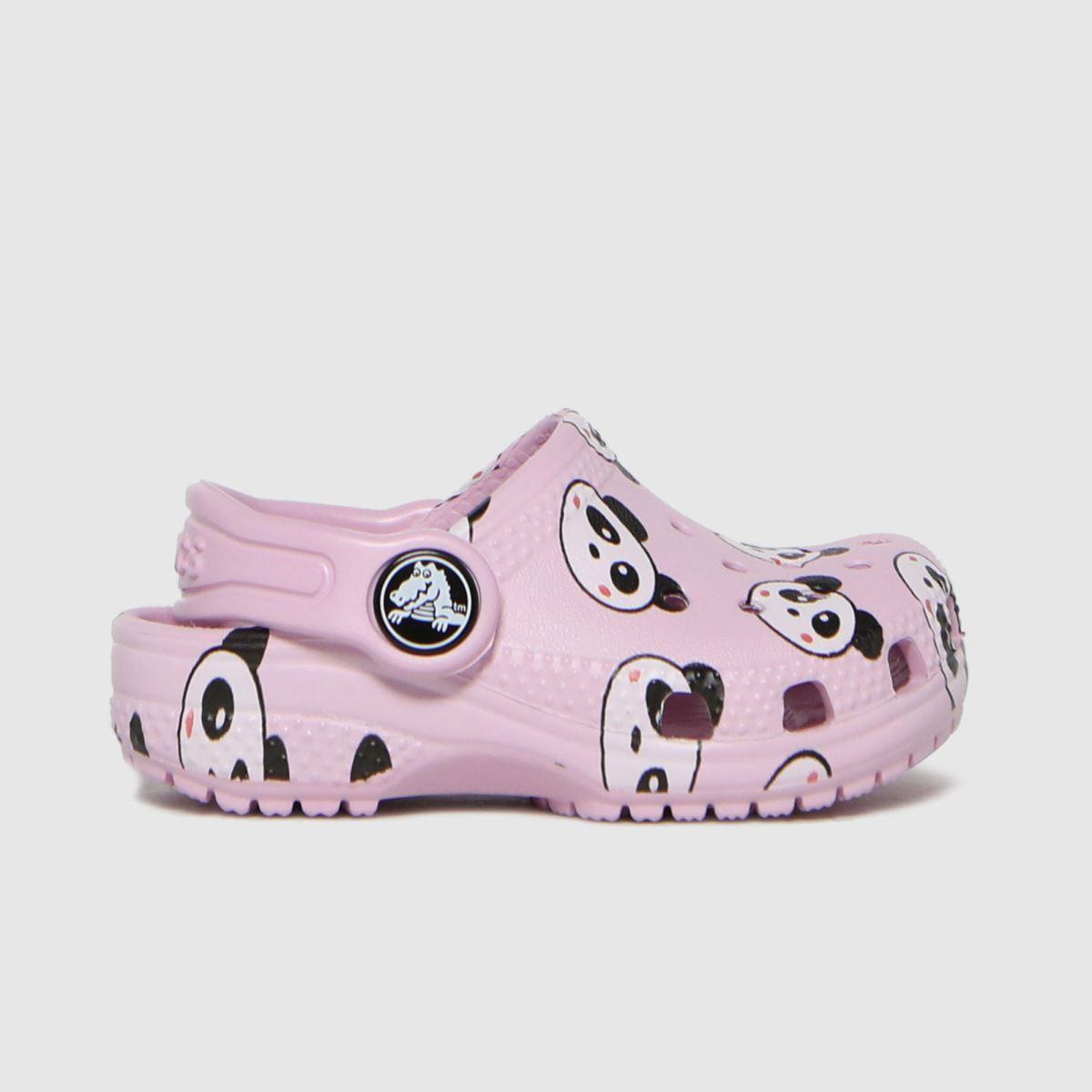 Crocs Pink Classic Clog SANDAL Toddler