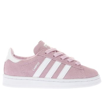 ADIDAS PINK CAMPUS GIRLS TODDLER TRAINERS