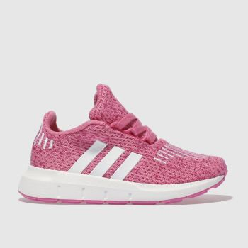 ADIDAS PINK SWIFT RUN TRAINERS TODDLER