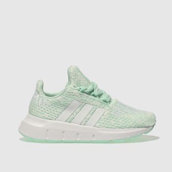 Adidas Light Green Swift Run Girls Toddler