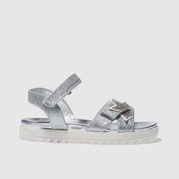 LELLI KELLY SILVER TANIA TRAINERS TODDLER